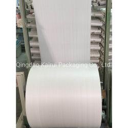 Plastica tubolare del rullo tessuta commercio all'ingrosso all'ingrosso del polipropilene pp