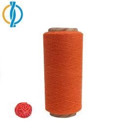 Filato di lavoro a maglia della moquette del reticolo riciclato prezzo poco costoso del filo di cotone