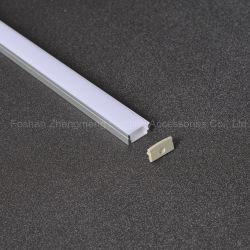 17mm*09mm LED 지구 빛 알루미늄 단면도