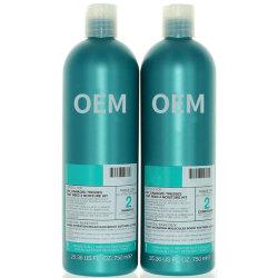 cura di capelli cosmetica della fabbrica dello sciampo e del condizionatore dei capelli dell'umidità di ripristino degli antidoti dell'OEM 750ml