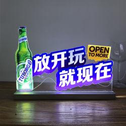 A4/A5/A6 LED 가벼운 아크릴 메뉴 홀더