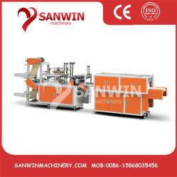China-automatisches doppelte Schicht CPE-TPE-PET-LDPE-HDPE Wegwerfplastikhandschuh, der Maschine herstellt