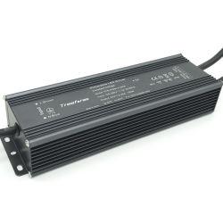 محول برامج تشغيل بقدرة 200 واط بجهد 12 فولت وقدرة 12 فولت وقدرة 0-10 فولت، يعمل بتقنية LED قابلة للتخفيت المحول