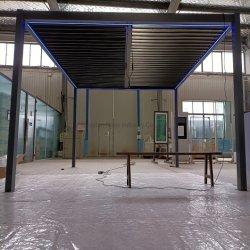 دليل خارجي مقاوم للمياه Gazebo freestanding Aluminum Pergola for خلفية الحديقة فناء شرفة