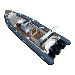 約 7.6 メートルの膨張式ボート / ヒッロンリブボート / 助手席ボートを備えている CE 認証