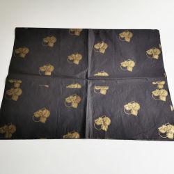 Fantasia económica Fractius ouro tecido Cintadora de Fardos de papel de presente de Natal