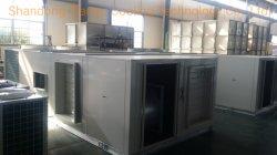 Bomba de refrigeração e calor, Tropical Climate Opcional, 10kw a 350kw, Economizador, refrigeração livre, Aquecedor eléctrico, controlo de humidade/Entalphy, Unidade embalada no tejadilho - RTU