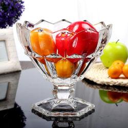 كوب زجاجي سميك مع آيس كريم Milkshake Glass Mug الفاكهة سلطة قصع