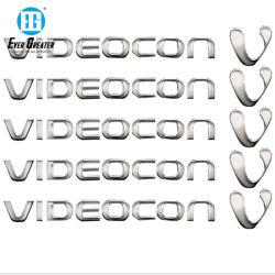 Níquel Electroformaing Electroform adhesivo logotipo El logotipo de níquel metal