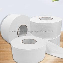 Tissus de bain du rouleau de papier rouleau blanc Serviette de toilette des produits de papier