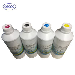 Tinta pigmentada base agua para su impresión sobre tela directamente