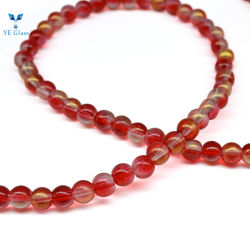 Abalorios de cristal de Fábrica Personalizada Pulsera Perlas naturales