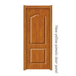 لوحة باب بوميلو باللون الأصفر الجديد، مواد الأبواب 2150*920*3