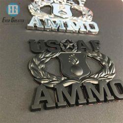 Kundenspezifische ABS Plastikauto-Emblem des chrom-3D