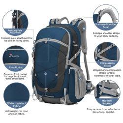 48L Mochila multifunción Montañismo Senderismo Trekking Camping al aire libre Bolsa Bolsa mochila