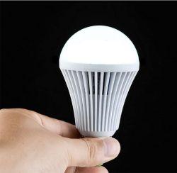 مصباح LED قابل لإعادة الشحن ومصباح الطوارئ 5W، و7 واط، و9واط، و12 واط، ومصباح LED للمصباح الذكي للطوارئ القابل لإعادة الشحن لتوفير الطاقة