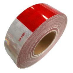 À prova de fita refletiva DOT-C2 Red e cola branca proeminência de fita de reboque, piscina, Carros, camiões