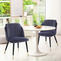 PU modernos de acero inoxidable genuino Blanco italiano de comedor negra de cuero marrón tejido Mesas de comedor y sillas para Comedor