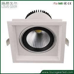 Werkverkauf Aluminium Gehäuse Einbauleuchte unten 30W COB LED-Scheinwerfer für Deckenstrahler