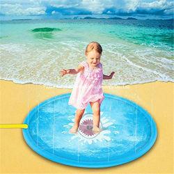 Im Freienspaß-Wasser-Sprenger-Spiel-Matte spielt aufblasbare Spritzen-Auflage für Kinder