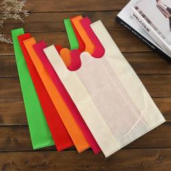 مصنع الصين تخصيص سعر الجملة الرخيصة قابل لإعادة الاستخدام Eco التسوق بوت حقيبة حمل هدايا البقالة سوق PP منسوجة T شيرت حقائب في الحجم