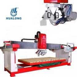 راى جسر هالونغ ستون الماكينات Hlsq-450 آلة قطع الجرانيت السيراميك مقص قرميد للبطون الرخامية مع قطع تشامفيرنغ 45 درجة