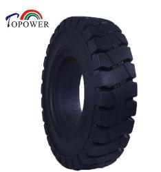 Neumáticos de goma maciza 14.00-24 1400 1400-24 24 para carretilla elevadora manipuladores telescópicos neumáticos apilador neumático remolque llegar