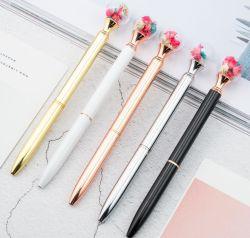 Suministros de oficina PapeleríaPromontional Bolígrafo con flor en la parte superior