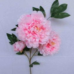 Bon Festival de mariage decoration de fleurs artificielles pivoine unique