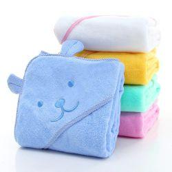 赤ん坊の Hooded バスタオル 100% 綿の極度の吸収性赤ん坊シャワー 幼児のための Newbron のベアー耳の浴室のタオルとのタオルのギフト 男の子