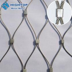Высокое качество SS304 316 л из нержавеющей стали проволочного каната сетка Net