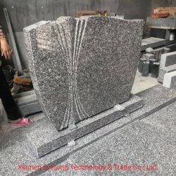 Monumento de lápidas de granito baratos-G663, G603, G648 (Cheer Rosa), Orión, Beida Qing, Hassen verde, marrón tostado, etc.