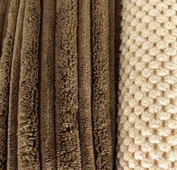 Polyester aufgetragenes Polsterung-Sofa-Kordsamt-Gewebe-Gewebe für Sofa-Möbel