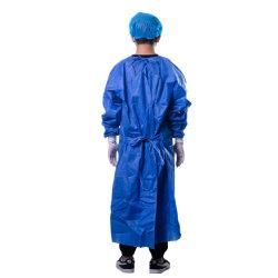 환자 및 닥터 PP + PE 35g/M2용 병원 의류 일회용 가운