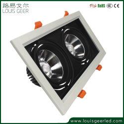 Tecto LED Cabeça Dupla Refletor da Grade de Luz do Painel 24W LED de alto brilho baixar