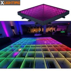 DJ освещение этапе Magic 3D-стекла светодиодная подсветка RGB танцевальном зале для свадьбы