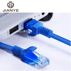سلك PVC للنحاس UTP سلك شبكة داخلي FTP 4 قم بإقران كابل شبكة LAN من نوع Ethernet من الفئة Cat 6