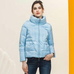 Suporte de peles de raposa de Inverno mulheres Casaco Colar curto casacos quentes