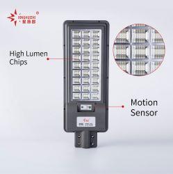 IP67 High Power 60 W 90 W 120 W 180 W 260 W Integrated Solar Illuminazione LED All in One lampada Garden Waterproof Street Light