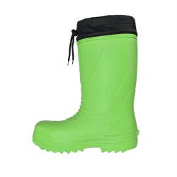 Высокое качество зеленый водонепроницаемый промышленной безопасности ботинки для мужчин