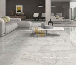 磨かれたギリシャ Volakas の壁 / 床張り / 暖炉 / 階段用の白い大理石のスラブ / タイル