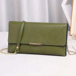 علامة تجارية جديدة سيدة الموضة حقيبة الكتف بوز مع الكتف الطويل شريط السلسلة