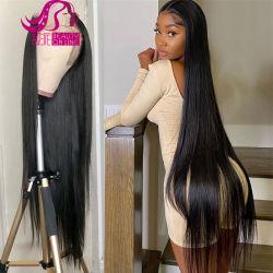 2021 「 Hot Selling Cubicle Aligned Virgin Hair Unprocessed Brazilian Hair (ブラジルの未 ロングストレートヘアレースウィッグ