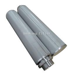 1 Micron 5 Microns filtres fritté 15 microns /filtre en métal fritté tube en acier inoxydable