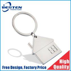 سلسلة مفاتيح ناقل المنزل المنزلي مصنوعة من المطاط من مادة PVC ناعمة مخصصة