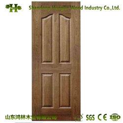 La Chine de gros de l'intérieur décoratifs en bois de placage MDF la peau de porte