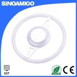 12W 16W 24W llevó el anillo de luz LED de la lámpara circular con E27