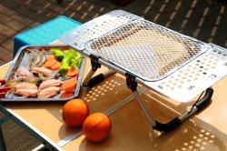 Sacchetto del dispositivo di raffreddamento del sacchetto di picnic di 2019 modi con il sacchetto di acquisto della griglia del BBQ con il sacchetto del dispositivo di raffreddamento della griglia del BBQ con la griglia istante del BBQ del BBQ della cartuccia pronta per l'uso della griglia