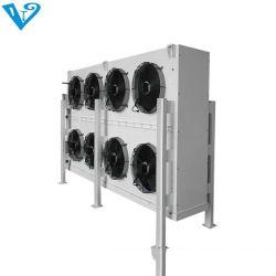 Almacenamiento en frío del refrigerador de aire interior de un cuarto frío.