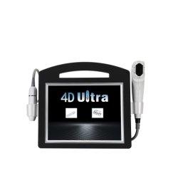 Mejor 3D portátil 4D Hifu Lifting facial el envejecimiento de la belleza de la máquina Anti Escultura Corporal Abdomen Papada la pérdida de grasa